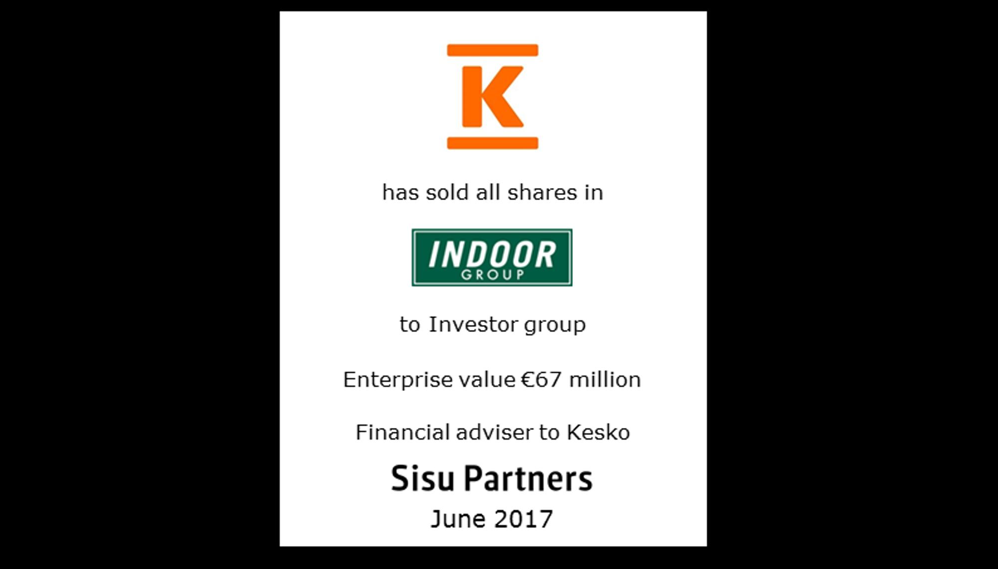 Kesko - Indoor Group